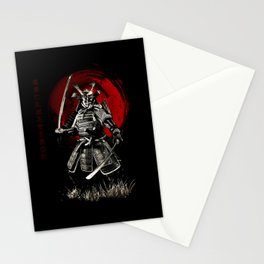 Bushido Samurai Stationery Cards