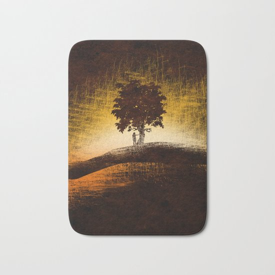 i love trees Bath Mat