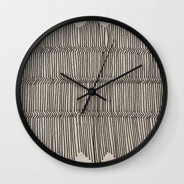 3D Fence Wall Clock