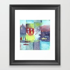 Quiet Harbour Framed Art Print