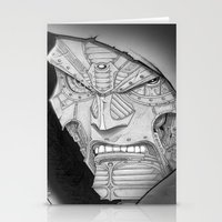 mf doom Stationery Cards featuring Doom! by GraphixRob Studios