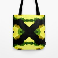 reggae Tote Bags featuring Reggae Fields by Stoian Hitrov - Sto