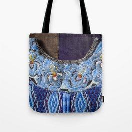 Guatemala - Hiupil of Flowers Tote Bag