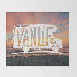 Van Life Throw Blanket