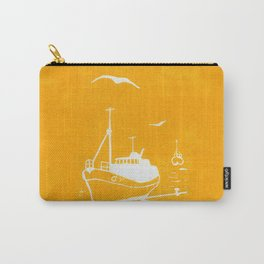 Comrades in Yellow Carry-All Pouch