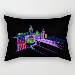 Vibrant city 3 Rectangular Pillow