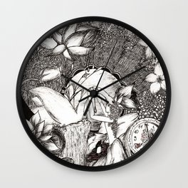 By the lake Wall Clock