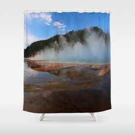 Like From An Alien World Shower Curtain