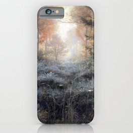John Everett Millais Dew-Drenched Furze iPhone Case