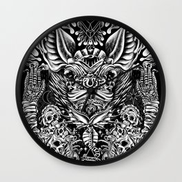 Haunter of the Dark Wall Clock