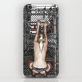 High voltage passion iPhone Skin