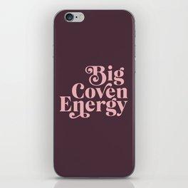 Big Coven Energy Plum iPhone Skin