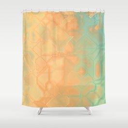 future fantasy riverbank Shower Curtain