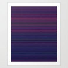 p stripe Art Print