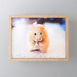 Mouse Framed Mini Art Print