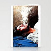 zayn malik Stationery Cards featuring Zayn Malik #1 by dariemkova