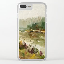 Oil Painting Realistic Artwork Personalized Art Gift Bedroom Decoration Wall Decor Oil Painting Clear iPhone Case