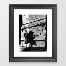 Dark Passenger Framed Art Print