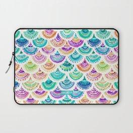 RAINBOW MERMACITA Colorful Mermaid Scales Laptop Sleeve