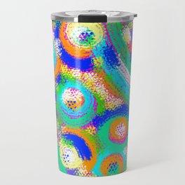 Rainbow Dots Travel Mug