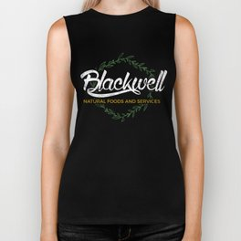 Blackwell Natural Foods and Services Biker Tank