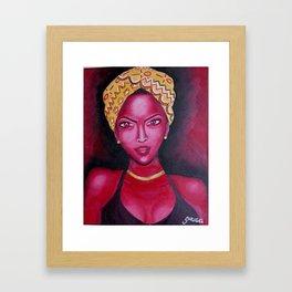 Ms. Intentional  Framed Art Print
