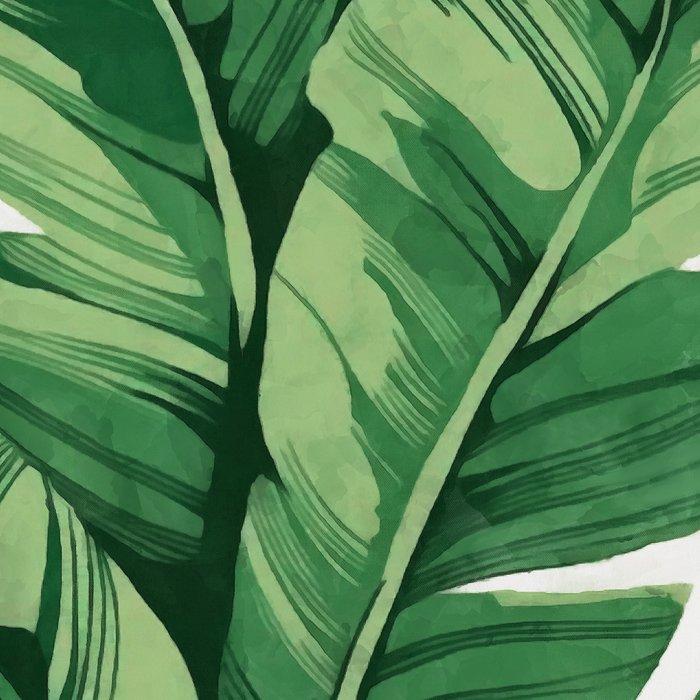 Tropical banana leaves Leggings