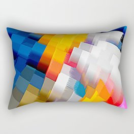 Extrusion II Rectangular Pillow