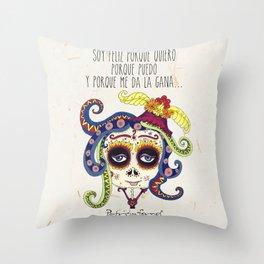 Catrina Throw Pillow