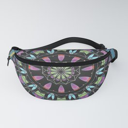Mandala 13 with Blue Fanny Pack