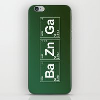 breaking iPhone & iPod Skins featuring Breaking Bazinga by dutyfreak