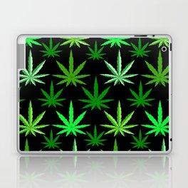 Marijuana Green Weed Laptop & iPad Skin
