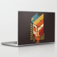 street art Laptop & iPad Skins featuring Street by The Child