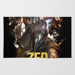 League of Legends ZED - The Master Of Shadows - Video games Champion Rug