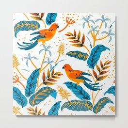 Summerland Birds II Metal Print