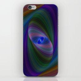 Elliptical fractal iPhone Skin