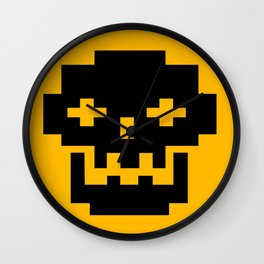 Funky Skull Head Wall Clock