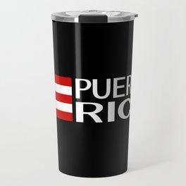 Puerto Rico: Puerto Rican Flag & Puerto Rico Travel Mug