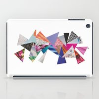 triangles iPad Cases featuring Triangles by Lydia Coventry