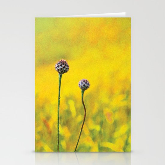 Summer ~ yellow Stationery Cards