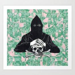 death on the lanai Art Print