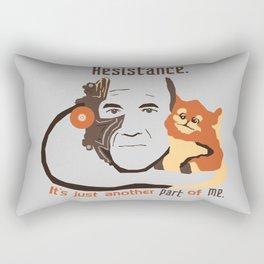 Resistance Rectangular Pillow