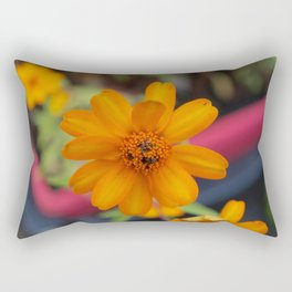 Zinnia Starbright Rectangular Pillow