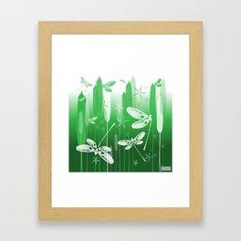 CN DRAGONFLY 1021 Framed Art Print