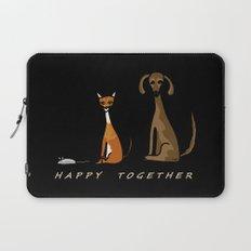 Happy Together - Black Laptop Sleeve