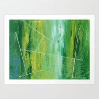 Chive On Art Print