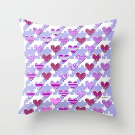Sweetooth Love Throw Pillow