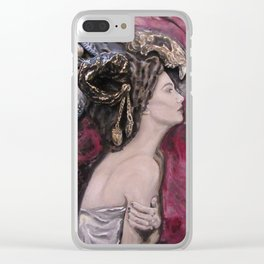 Queen of Shamans Clear iPhone Case