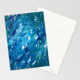Sunlight on Lake Michigan Stationery Cards