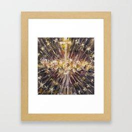 Cor Maria Sacratissimi. (Lighting) Framed Art Print